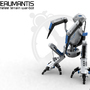 Plateaumantis by 3D-xelu