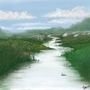 Landscape in Corel Painter X by Raguel
