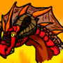 Lava Dragon by DoodleDemon