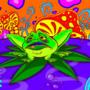 Jammin' Frog by Masebreaker