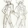 Kenstar & Yusuke by TheManofSteal13