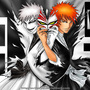 Bleach:Hollow Ichigo & Ichigo by BadTak