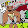 BIG FOOT!! by theyoutuber