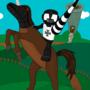 Horseman by Kreu-Zung