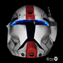 Republic Commando Helmet by johngoldenwolf