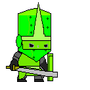 Castle Crashers Forest Knight by ShadowClaw625