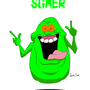 Slimer by VanillaBeast
