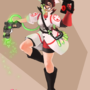 TF2: Girl Medic by rtil
