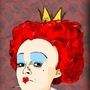 The Red Queen by Blobbycartoons