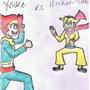 Yusuke vs Hirikari-chan by xKotakux