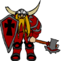 The Dwarven Warlord by wobbo