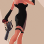 TF2: Girl Spy by rtil