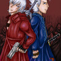 Dante and Vergil : DMC 3 by Fifty-50