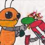 Alien Crashers by 2kano113