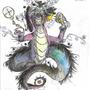 god dragon by may825