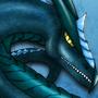 Blue Dragon by Maszrum