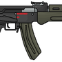 AKS-47 by girwasx