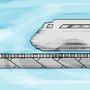 Supersonic train by Sangasan