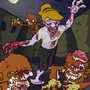 Monkey Zombie Island by LiLg