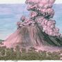 volcano by cristianemi