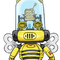 robo honey bee