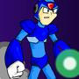 Megaman X by Spazboy225