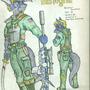 Zeman Bastogne Colored Pencil by ElectronicFunk
