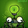 'Lightbulb Frog' by ButzboPrud