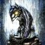 Dark Wolf by XxCrimsonMoonxX