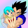 Vegeta x Bulma Mine by MsDBZbabe