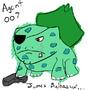 Agent Bulbasaur by DNoack757
