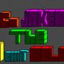 block letterering test by LoCo-joker-05