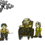 Halfling team by MasterOfDarkArts
