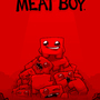 Super Meat Boy Comic Cover 2.5 by Bluebaby