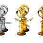 Trophies in Pixelart! by LazyMe