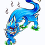 Blue Demon Dog by Kairisk