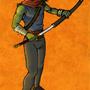 Blademaster Tolen by Nerdbayne