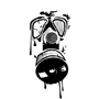 Pure Photoshop - Gas Mask by lethalstyx