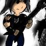 Heavy metal dude by Keron-Ekzecut