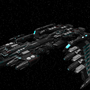 Arkarian Battleship Mk1 by Gwyvern