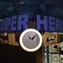 Super Hero Clock by Manuel-Dangelo