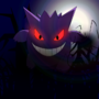 Gengar_shadow_ball by oxob3000