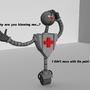 Medical bot Jeeves by VidGameDude