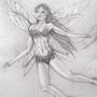 Fairy In Flight by kitangelwings