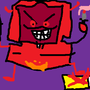 Evil Macintosh!!! OMG! by leviwellsy