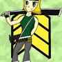 Army girl by Keron-Ekzecut