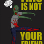 zombie's aren't friends by fitzfactor64