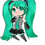 Chibi Miku by dragonrider4567