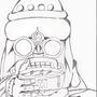 Aztec Priest by Daxalf