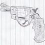 Hand Gun by Milkdhillon1
